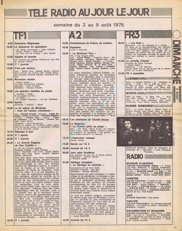 1975-08-03 Duminica