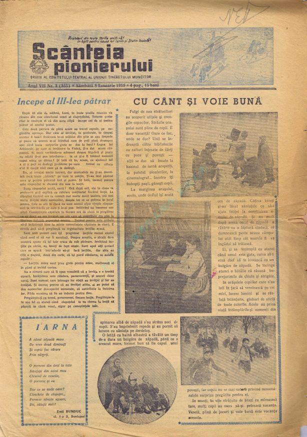Scanteia pionierului 1955-01-08 1