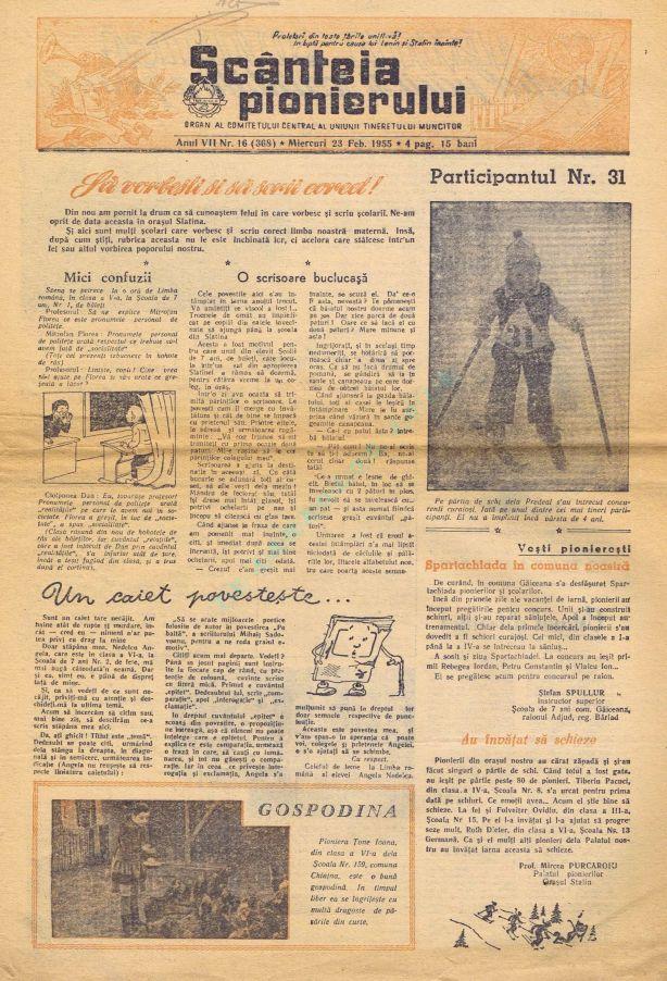 Scanteia pionierului 1955-02-23 1