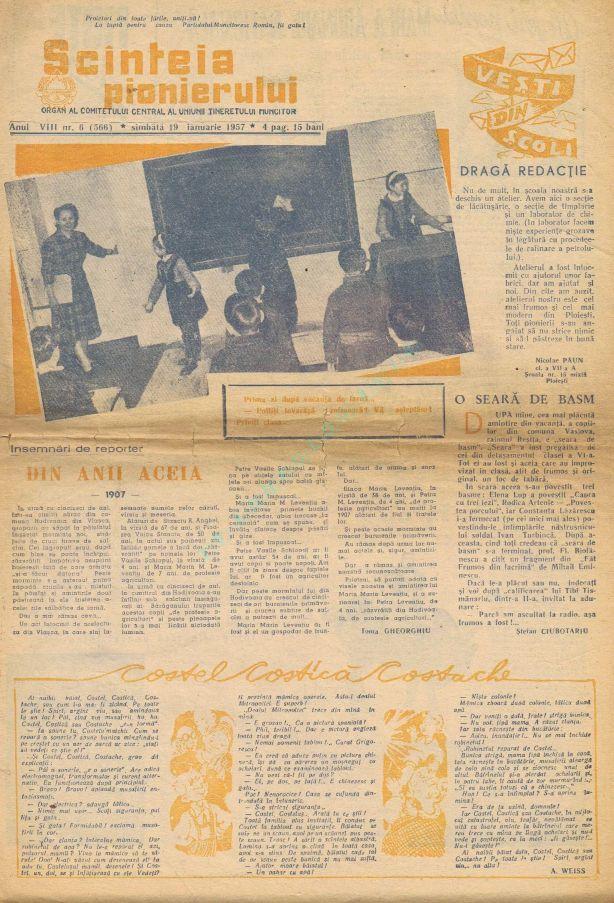 Scanteia pionierului 1957-01-19 1