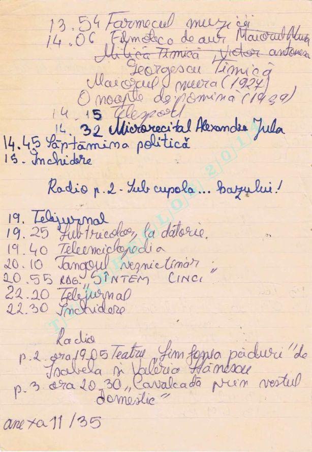 1989-03-11 Sambata Tv-Radio