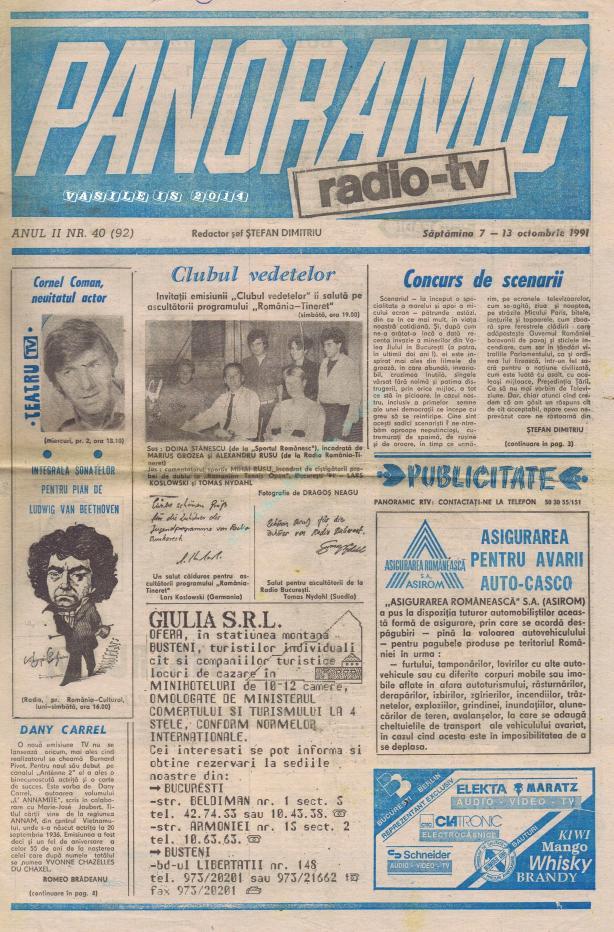 1991-10-07 Coperta 1