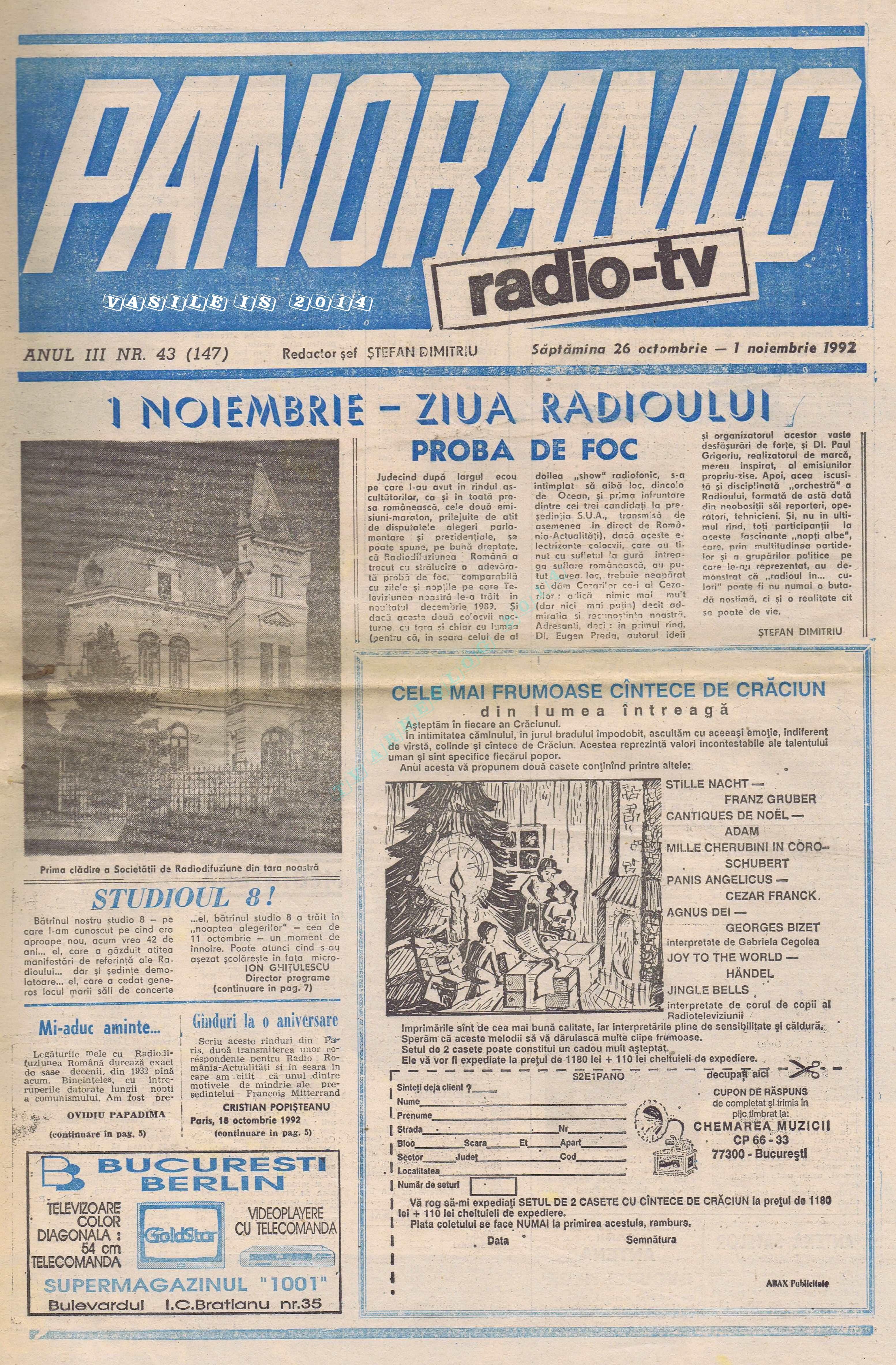 1992-10-26 Coperta 1