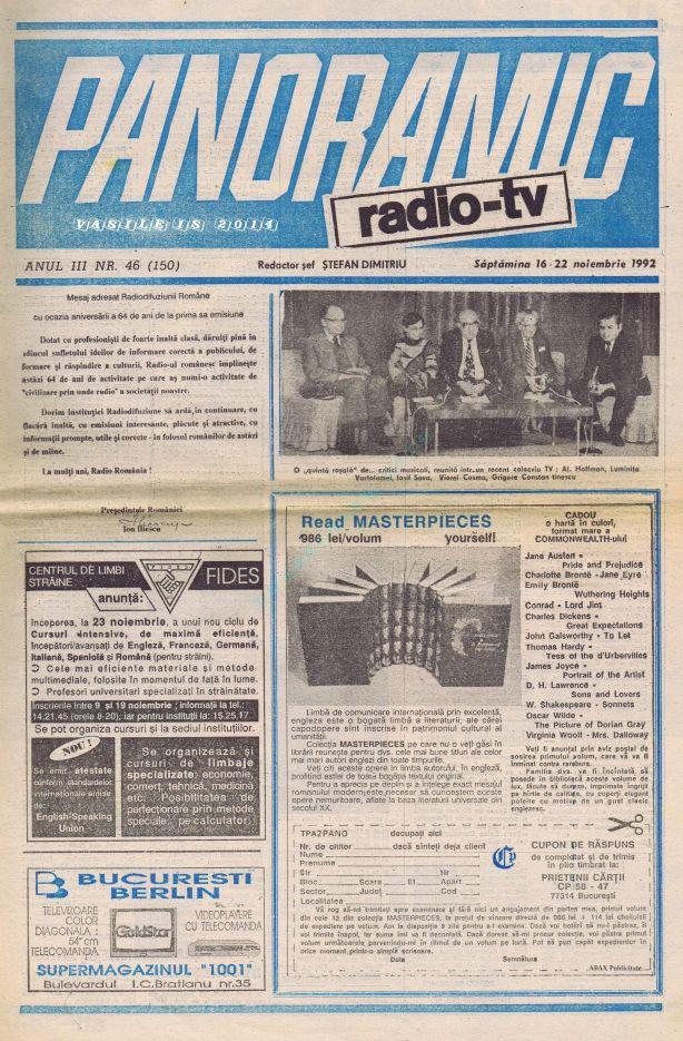 1992-11-16 Coperta 1