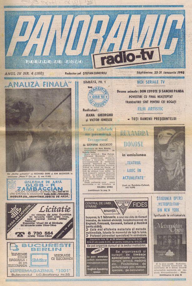 1993-01-25 Coperta 1