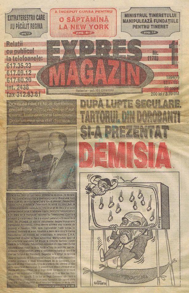 Expres Magazin Teverac 1
